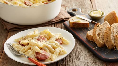 Cheesy Sausage and Penne Casserole image