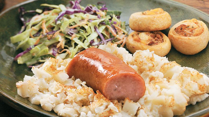 German potato and sausage casserole recipe bettycrocker german potato and sausage casserole forumfinder Images