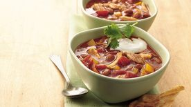 Slow-Cooker Chicken Enchilada Chili
