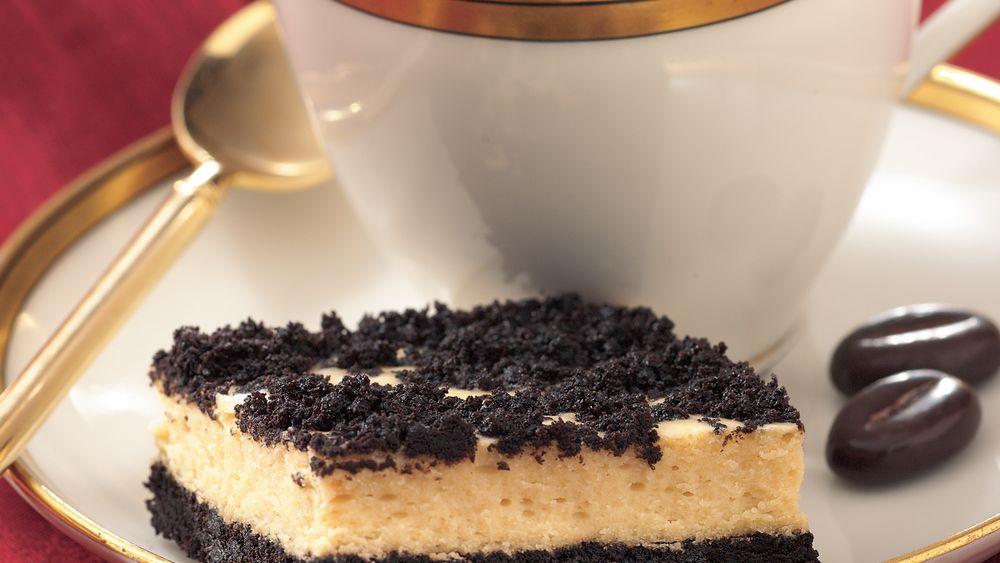 Espresso Cheesecake Bars