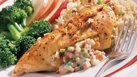 Blue Cheese and Apple-Stuffed Chicken Breasts