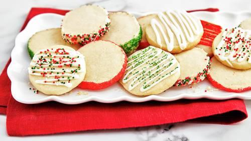 3-Ingredient Sugar Cookies image