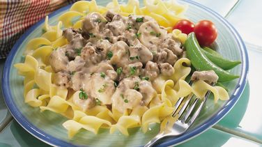 Light and Easy Hamburger Stroganoff