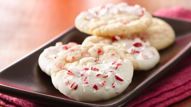 Double Peppermint Crunch Cookies