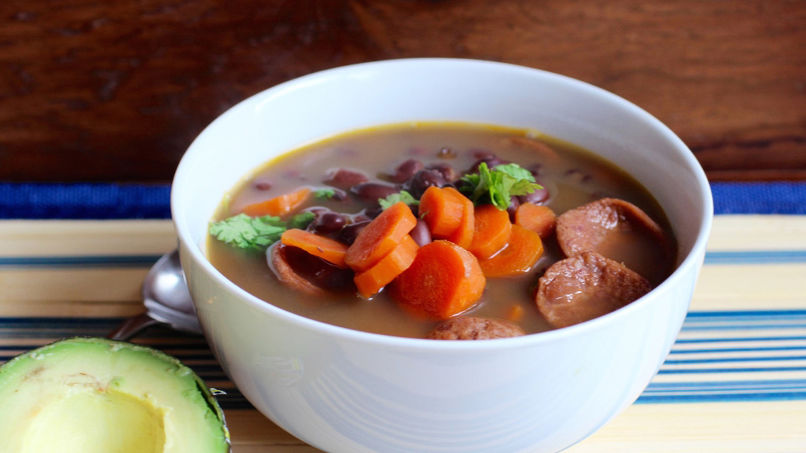 Black Bean and Carrot Soup