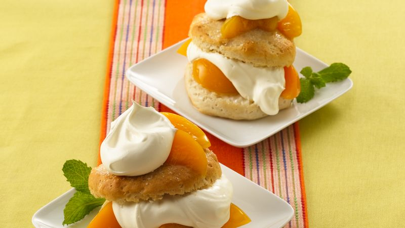 Grands!® Easy Peach Shortcakes