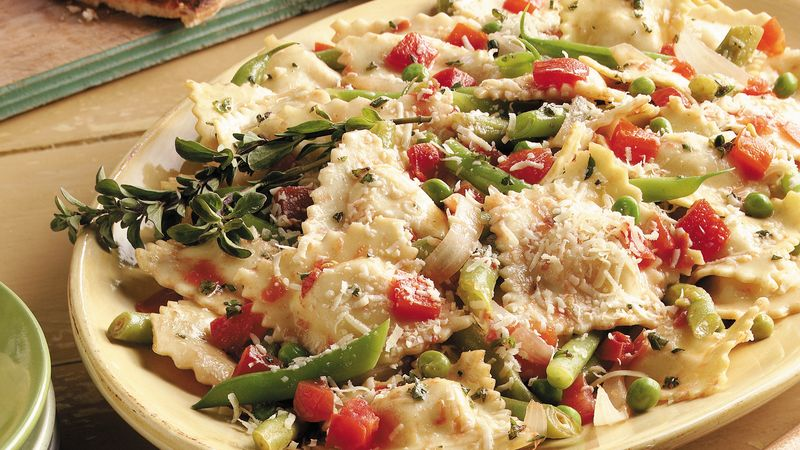 Ravioli With Vegetables