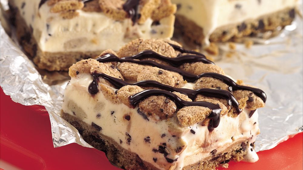 Cookie dough ice cream dessert recipe from for Ice cream dessert recipes