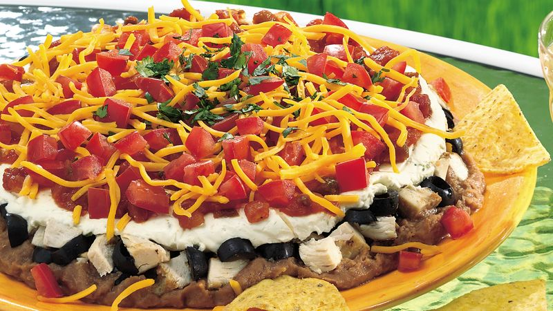 Mexican Chicken Dip with Lime