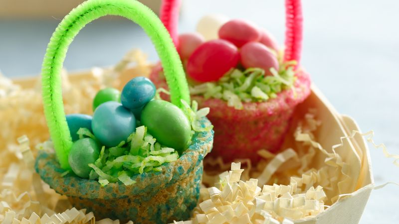 Easter Basket Cookies