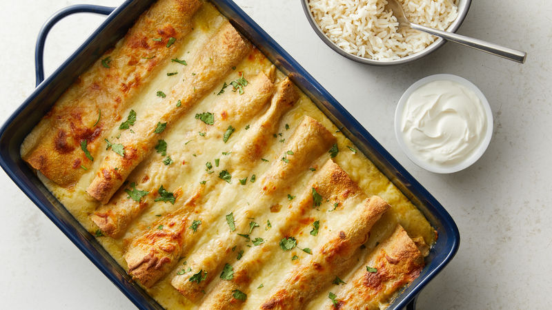 Honey Lime Chicken Enchiladas Recipe Tablespoon Com