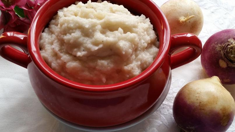 Creamy Turnip Purée