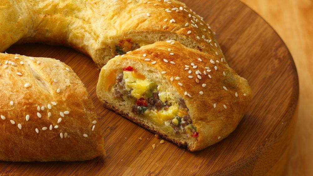 Sausage, Egg and Cheese Breakfast Roll-Ups Recipe - Pillsbury.com