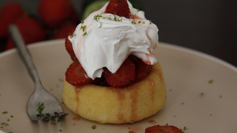 Strawberry Margarita Shortcakes