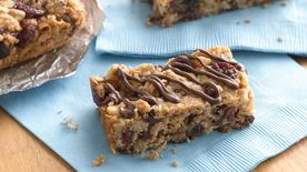 Chewy Oatmeal Raisin Breakfast Bars