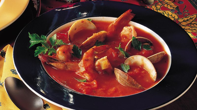 Italian Cioppino Recipe Bettycrocker Com