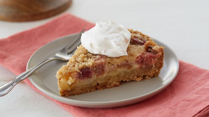 Rhubarb Cream Tart