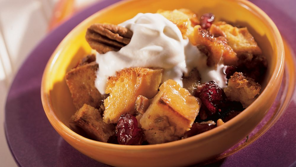 Fruit and Maple Bread Pudding