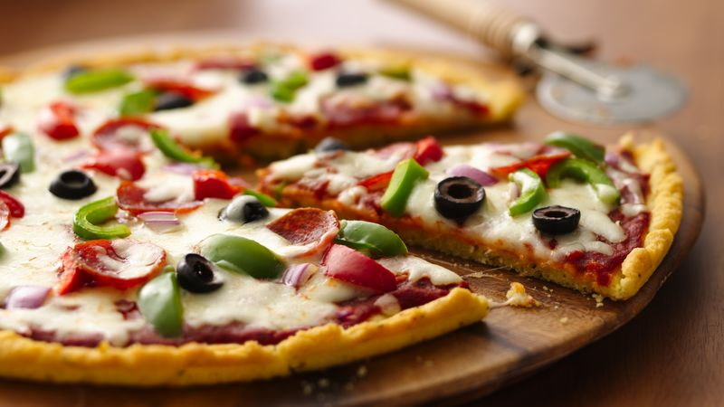 gluten free pizza recipe bettycrocker com