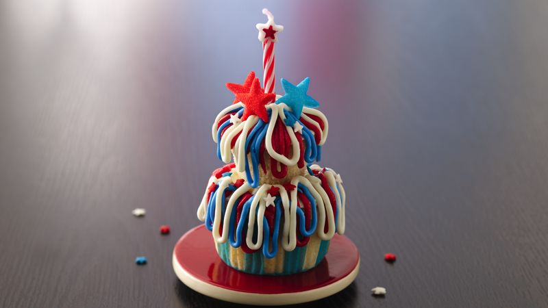 Fireworks Cupcake Towers