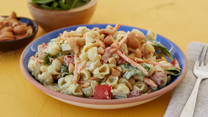 Easy Curry Chicken Pasta Salad