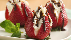 Cream-Filled Strawberries