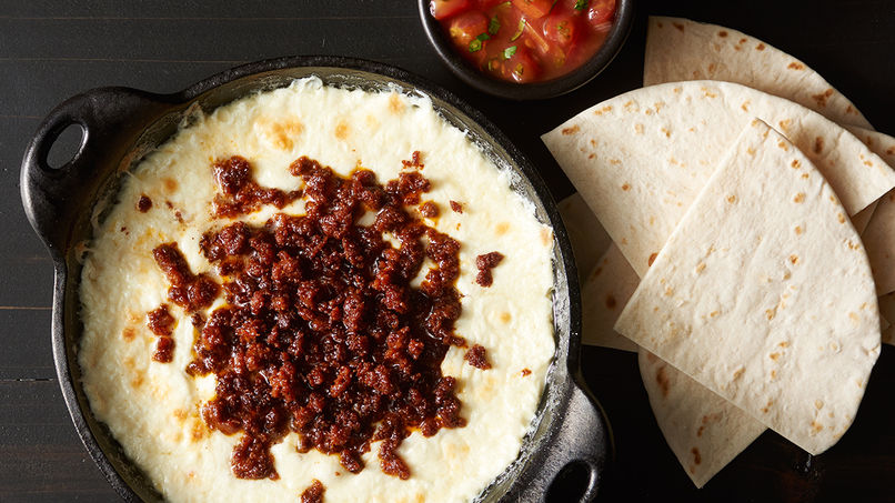 Chorizo and Cheese Dip