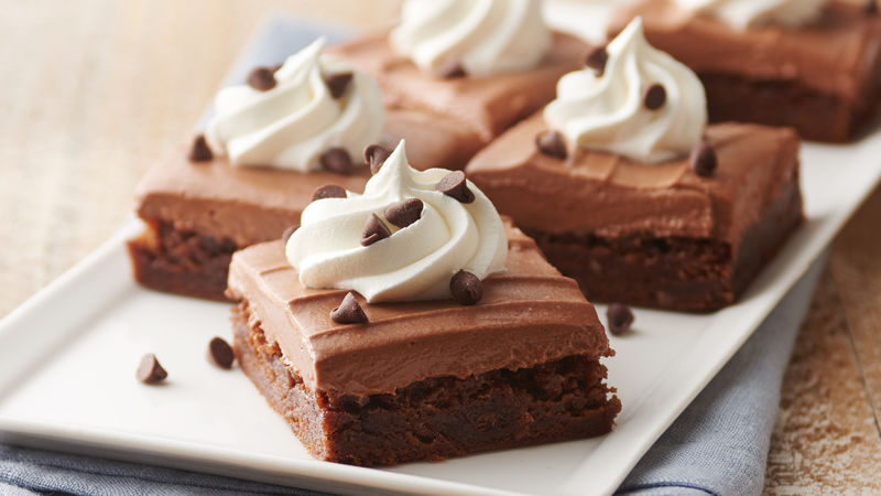 French Silk Brownies