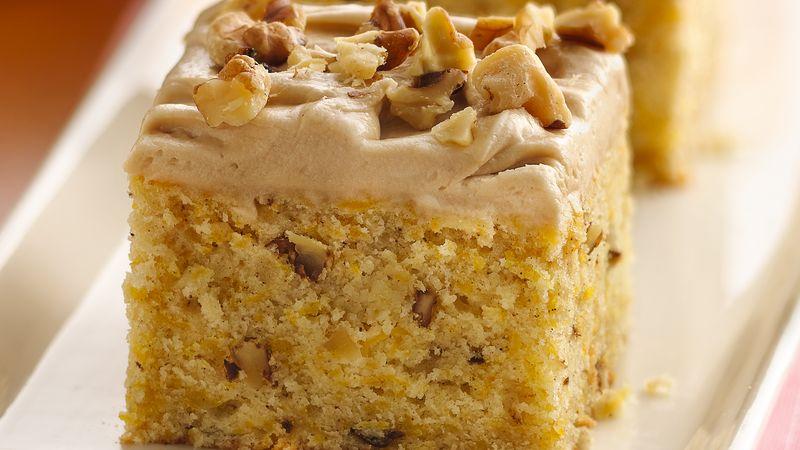 Butternut Squash Cake Recipe Bettycrocker Com