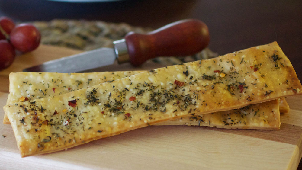 Honey, Rosemary and Sea Salt Flatbread