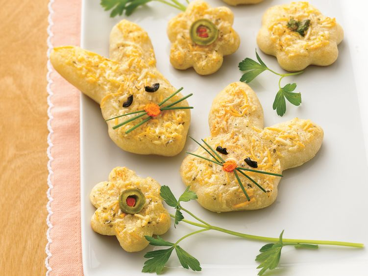 Cheesy Easter Shapes