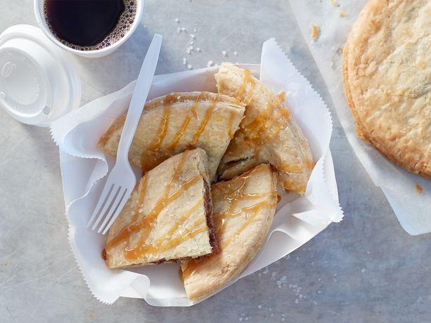 Sea Salt Caramel Bacon Pecan Pie