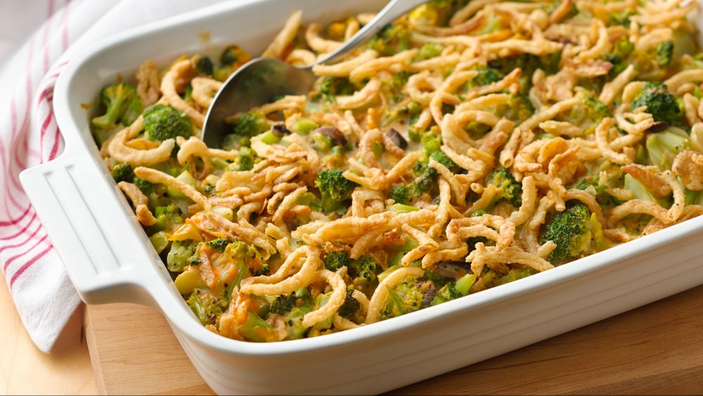 Broccoli-Cheese Casserole