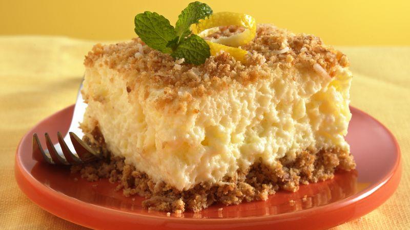 Creamy Pineapple-Pecan Dessert Squares