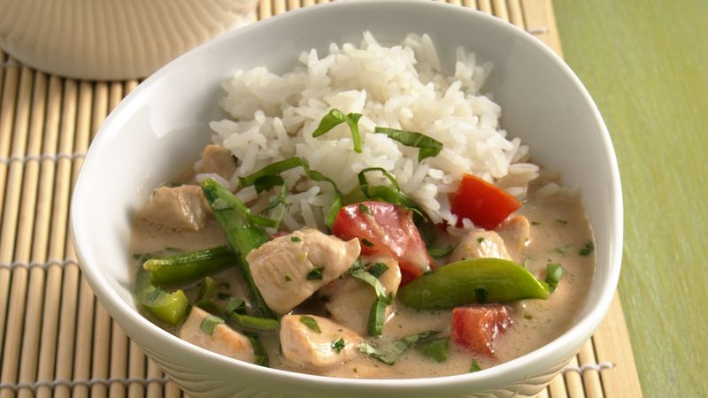 Thai style coconut chicken recipe bettycrocker thai style coconut chicken forumfinder