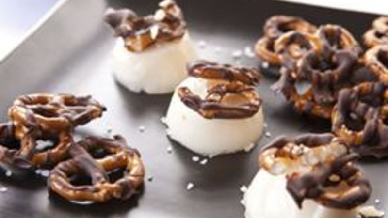 Chocolate Pretzel Jello Shots