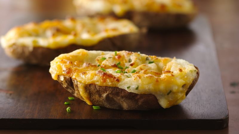 Twice Baked Potatoes Recipe Bettycrocker Com
