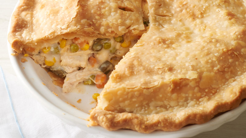 Classic Chicken Pot Pie Recipe Pillsbury Com