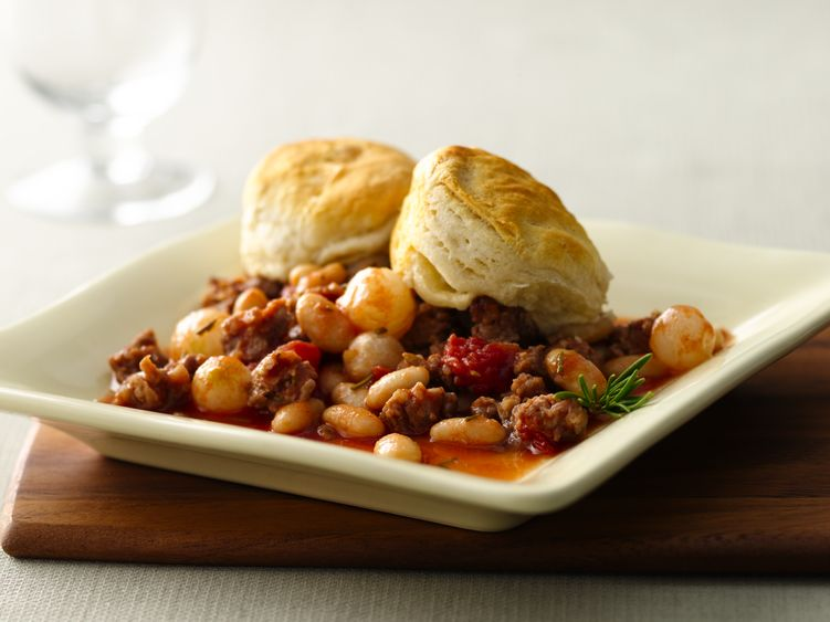 Sausage with White Beans and Rosemary