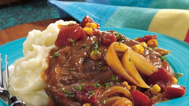 Oven-Barbecue Swiss Steak