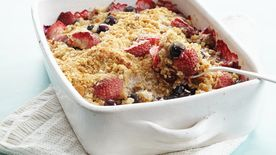 Blueberry-Strawberry Crisp