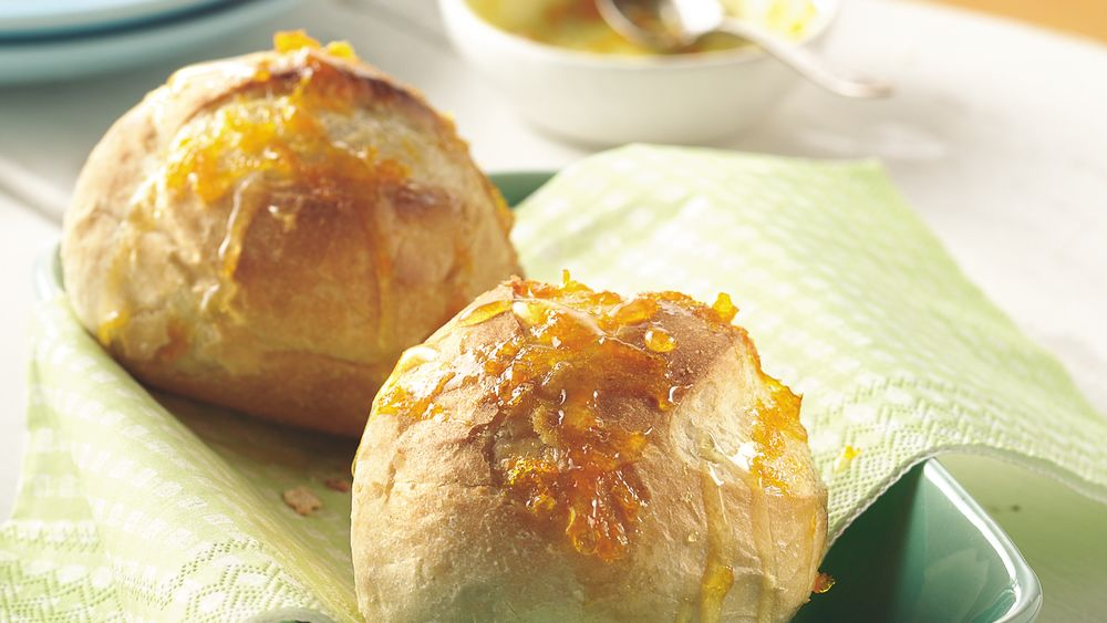 Orange-Honey Dinner Rolls