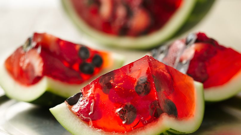 Spectacular Fruit Gelatin