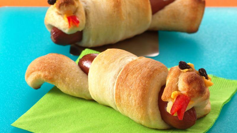 Silly Snake Hot Dogs