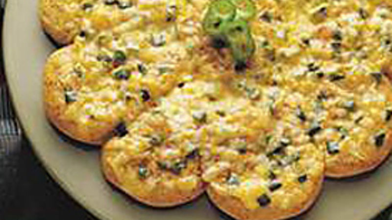 Green Chile and Cheese Biscuit Bread