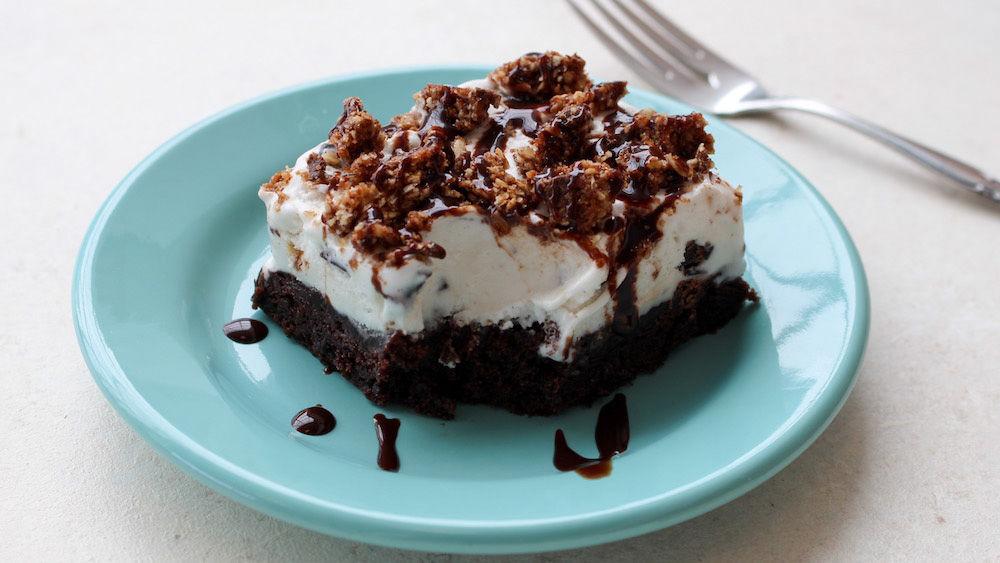 Brownie Ice Cream Crunch Bars Recipe Pillsbury Com