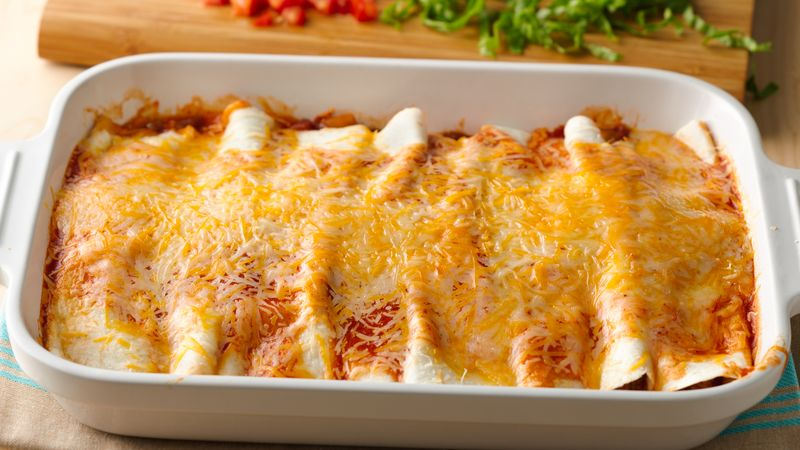 5 Ingredient Beef Enchilada Casserole Recipe Pillsbury