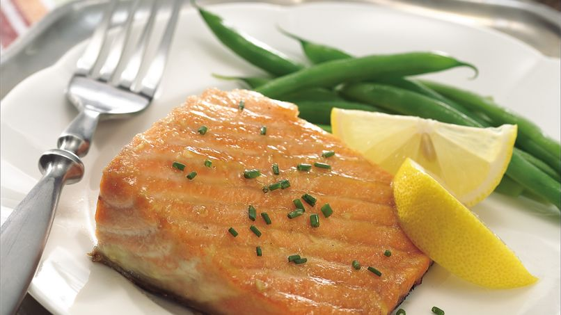 Brown Sugar Barbecued Salmon