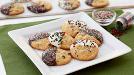 Easy Chocolate Chip Christmas Cookies (Small-Batch Quantity)