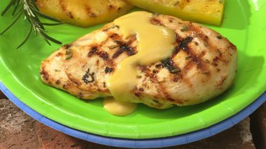 Pineapple-Glazed Chicken Breasts